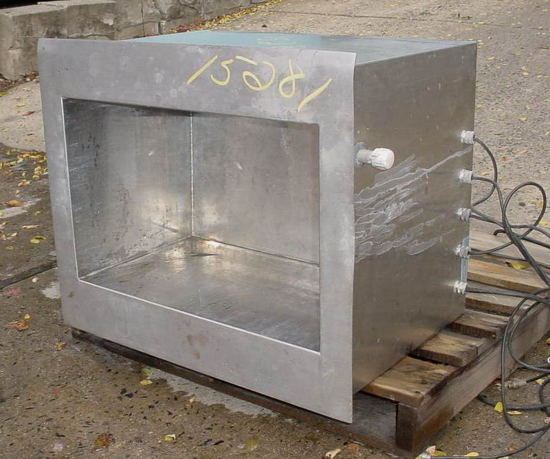 ULTRASONICS CORP 25 GAL Electrically Heated Ultrasonic Cleaning Tank