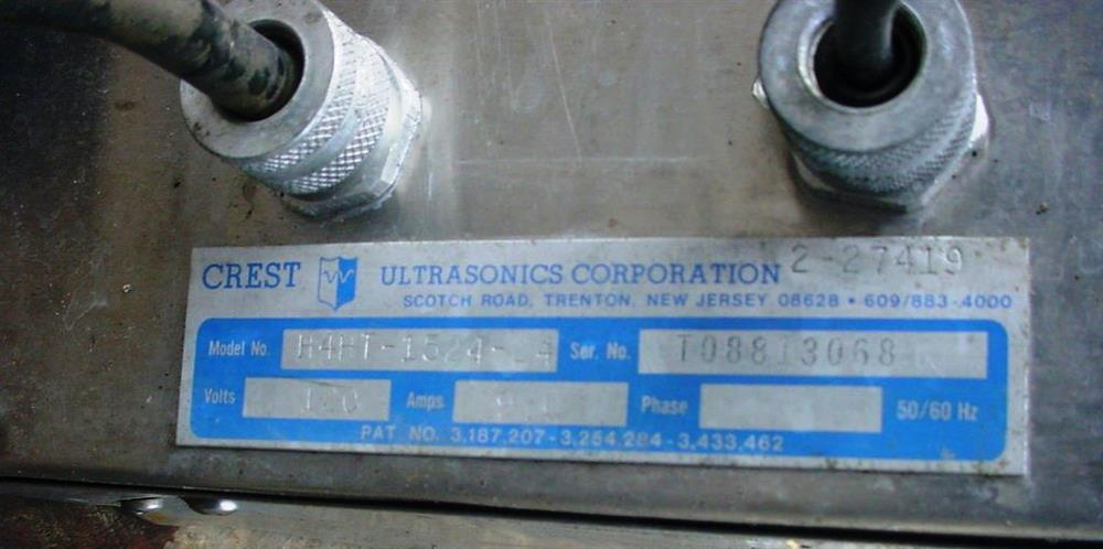 Image ULTRASONICS CORP 25 GAL Electrically Heated Ultrasonic Cleaning Tank 751261