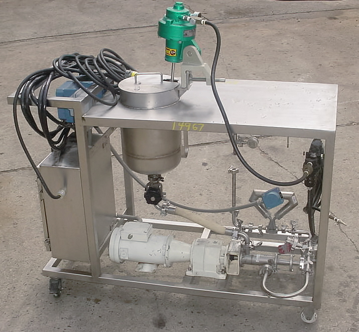 Image DELTA GROUP In Line Blending And Liquid Delivery Cart Supported By Progressive Cavity Pump And Mass Flow Meter 681056