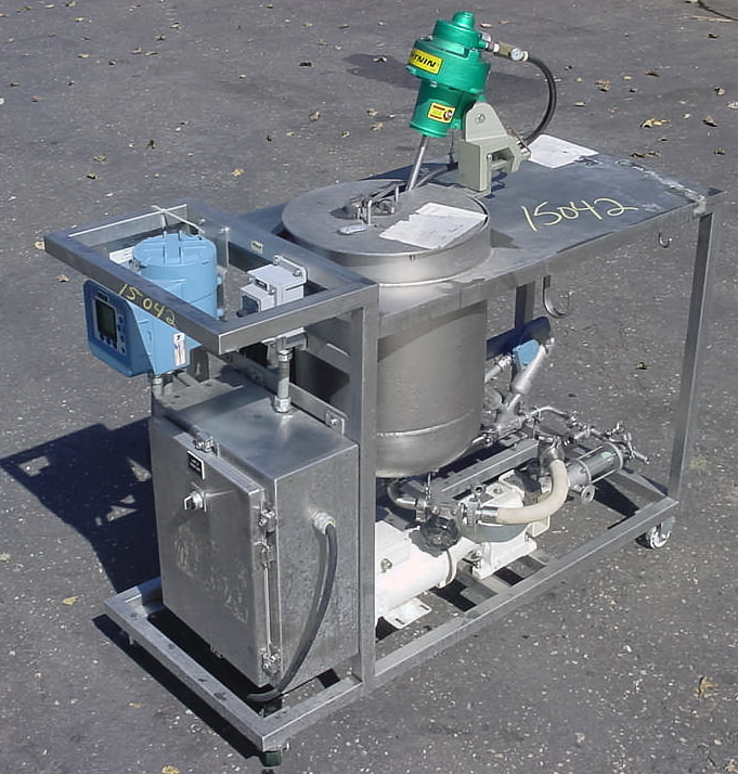 Image DELTA GROUP In Line Blending And Liquid Delivery Cart Supported By Progressive Cavity Pump And Mass Flow Meter 681080