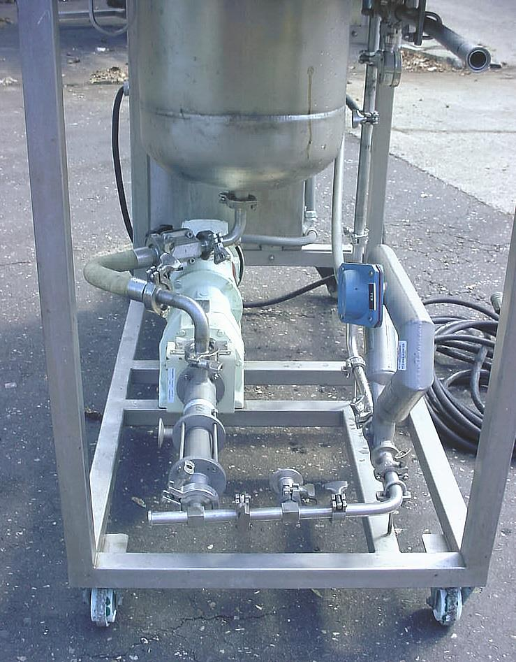 Image DELTA GROUP In Line Blending And Liquid Delivery Cart Supported By Progressive Cavity Pump And Mass Flow Meter 1056770