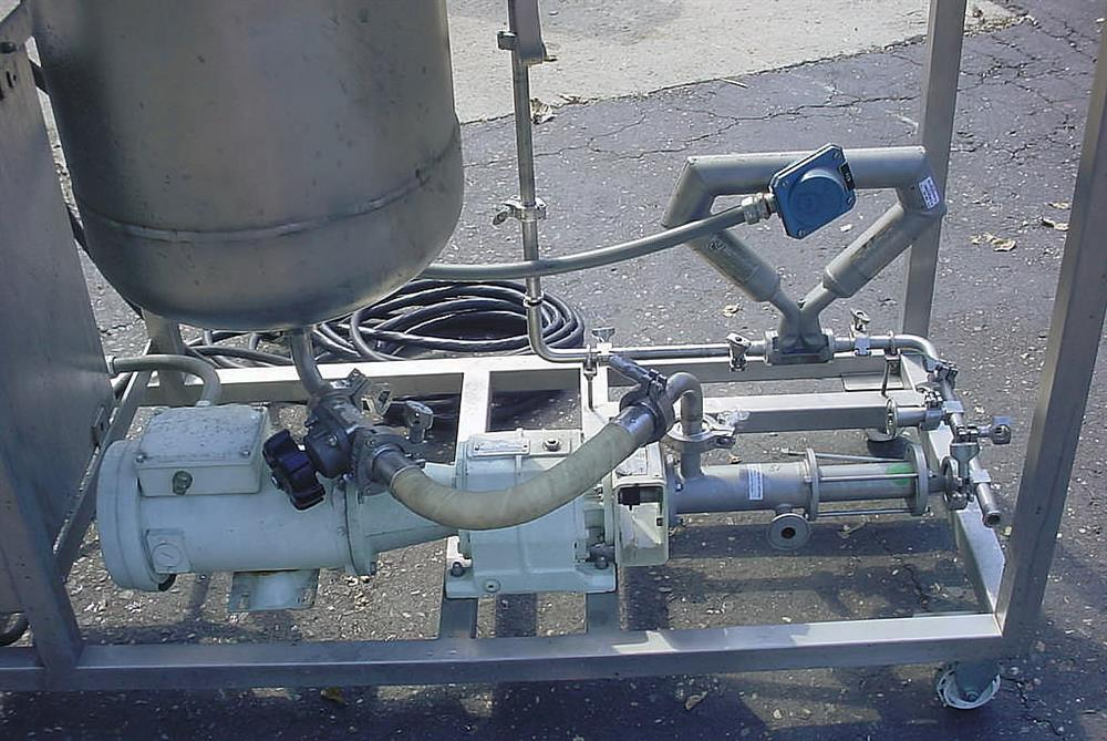 Image DELTA GROUP In Line Blending And Liquid Delivery Cart Supported By Progressive Cavity Pump And Mass Flow Meter 1056771
