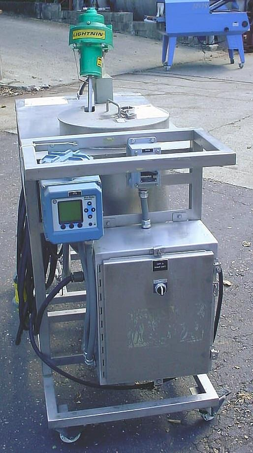 Image DELTA GROUP In Line Blending And Liquid Delivery Cart Supported By Progressive Cavity Pump And Mass Flow Meter 1056774