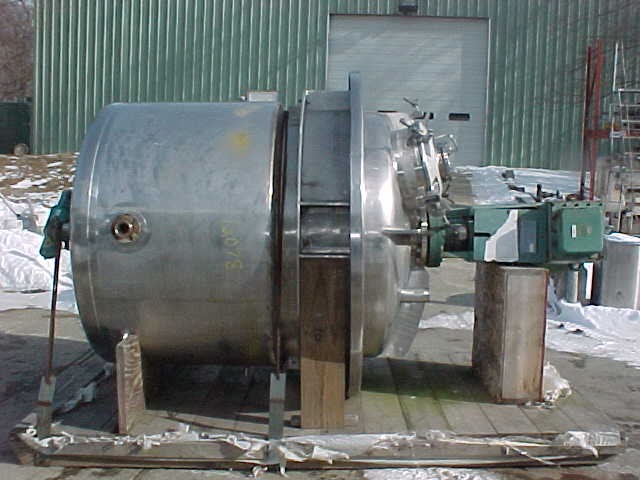 Image PAUL MUELLER  600 GAL/2300 Liter Reactor Stainless Steel Sanitary 681110