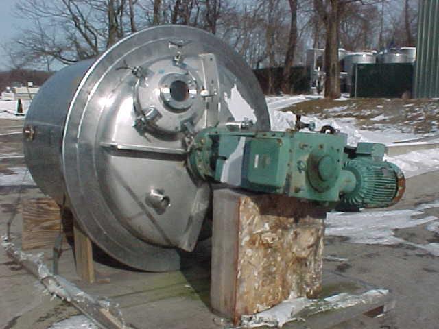 Image PAUL MUELLER  600 GAL/2300 Liter Reactor Stainless Steel Sanitary 808639