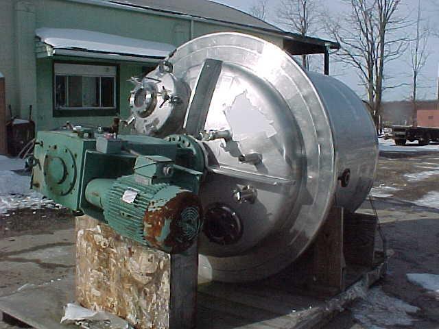 Image PAUL MUELLER  600 GAL/2300 Liter Reactor Stainless Steel Sanitary 808640