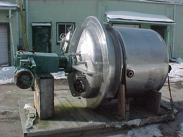 Image PAUL MUELLER  600 GAL/2300 Liter Reactor Stainless Steel Sanitary 808641