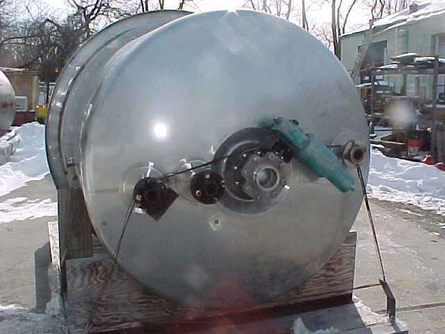 Image PAUL MUELLER  600 GAL/2300 Liter Reactor Stainless Steel Sanitary 808642