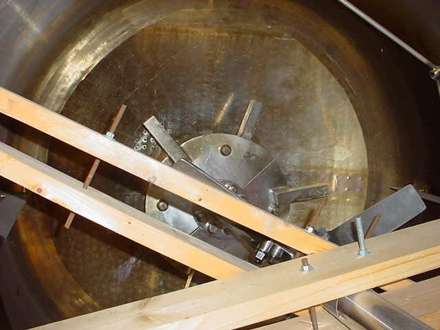 Image PAUL MUELLER  600 GAL/2300 Liter Reactor Stainless Steel Sanitary 808645