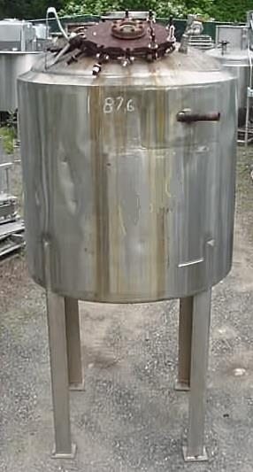 Image 400 Gallon Stainless Steel Reactor 759163