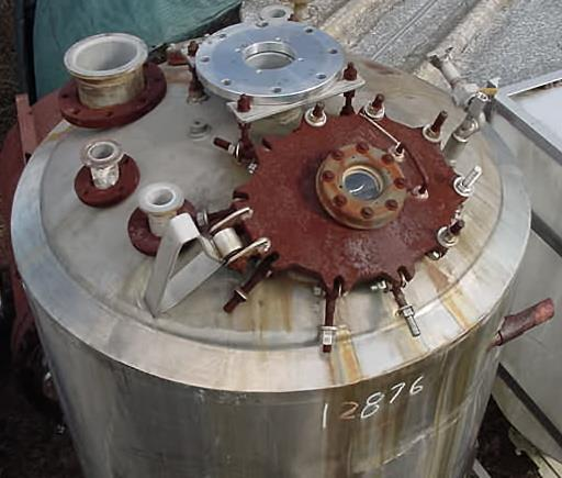 Image 400 Gallon Stainless Steel Reactor 759164