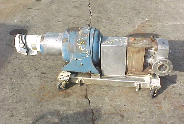 Image ALBIN PUMP Stainless Steel (316 Ss) Sanitary Lobe Type Positive Displacement Pump 681137