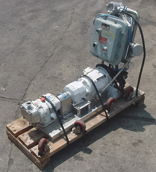 Image G AND H - ALFA LAVAL Stainless Steel (316) Sanitary Lobe Type Pump 681139