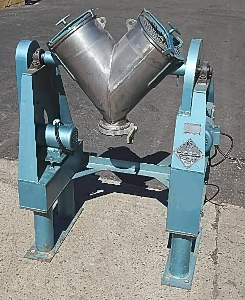 Image 2 CU FT PATTERSON-KELLEY Twin Shell Blender -  Stainless Steel, Sanitary 749479