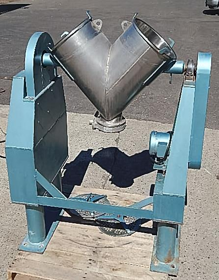 Image 2 CU FT PATTERSON-KELLEY Twin Shell Blender -  Stainless Steel, Sanitary 922368
