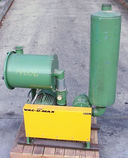 Image VAC-U-MAX  Package Blower System For Pneumatic Conveyor 681272