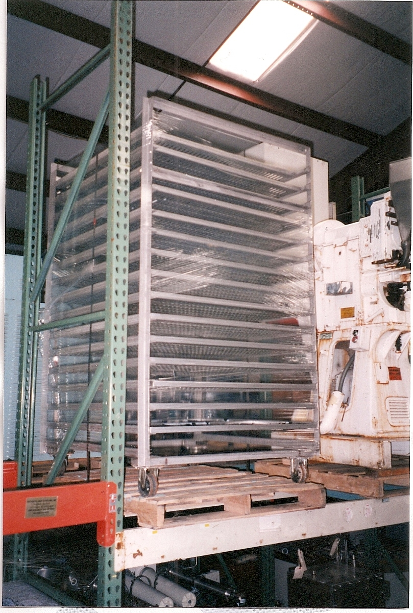 Image Tray Dryer Cart With Trays Stainless Steel Construction 681296