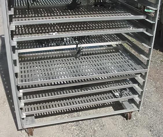 Image Tray Dryer Cart With Trays Stainless Steel Construction 852153