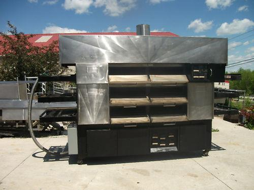 Image RANDELL M-303-M 3 Deck Electric Pizza Ovens 681298