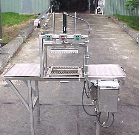 Image KRAFT FOODS Stainless Steel Custom Built Product Reclaimation Press 681358