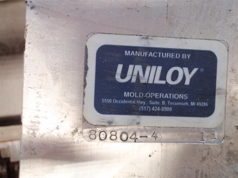 Image UNILOY 80804-4 Square Blow Molds 681600