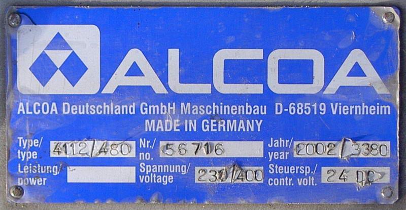 Image 12 Head ALCOA Screw Capper  681789
