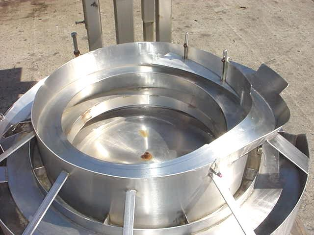 Image 30in Dia  Stainless Steel Pneumatic Operated Vibrator Bowl Feeder 754666