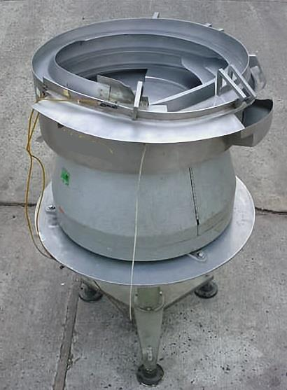 Image 30in Dia AUTOMATION DEVICES Stainless Steel Vibratory Bowl Feeder 681867