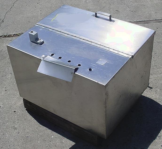 Image 30 Gal Stainless Steel Filler Supply Tank 754682