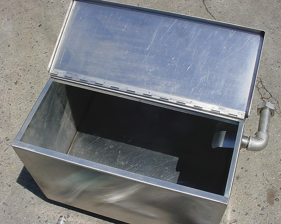 Image 30 Gal Stainless Steel Filler Supply Tank 754683