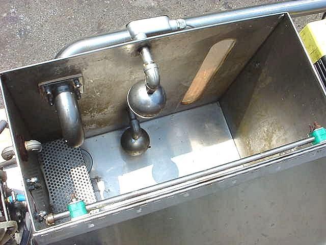 Image 35 Gallon Rectangular Supply Tank - Stainless Steel, Sanitary  759161