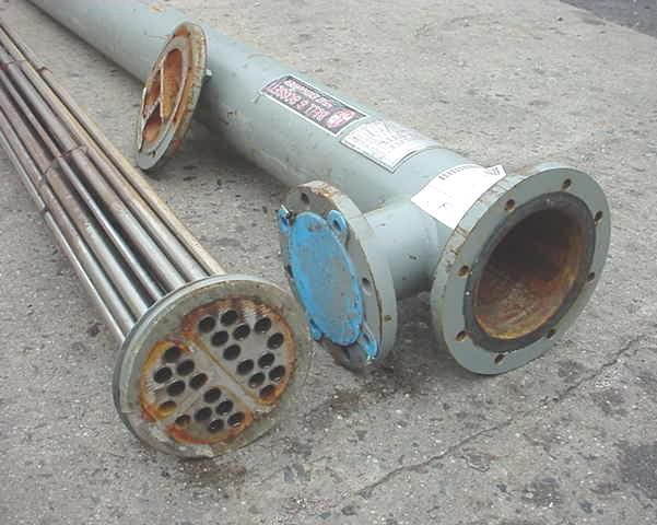 Image 30 Sq Ft ITT STANDARD Shell And Tube Heat Exchanger 754653