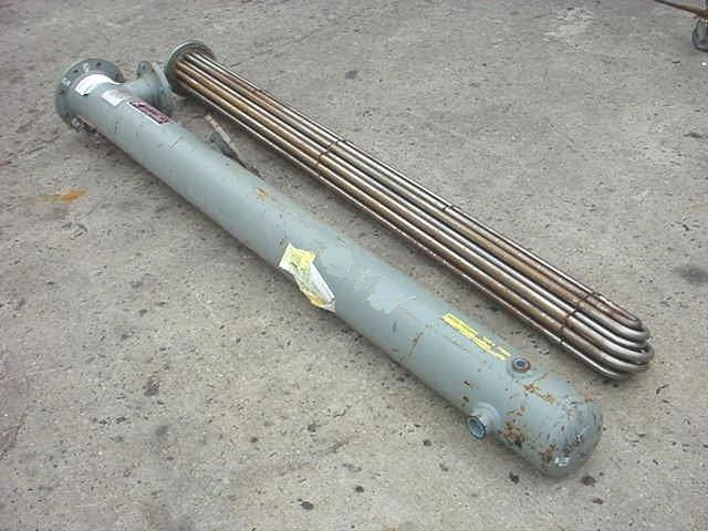 Image 30 Sq Ft ITT STANDARD Shell And Tube Heat Exchanger 754654