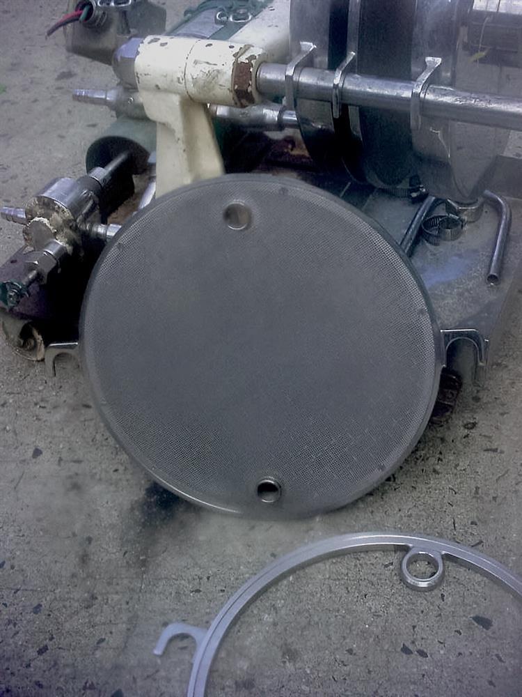 Image 12in Dia ERTEL 2 H Sb4 Round 304 Stainless Steel Filter Press 751675