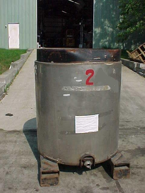 Image 350 Gal Stainless Steel Portable Tote Tank 682044