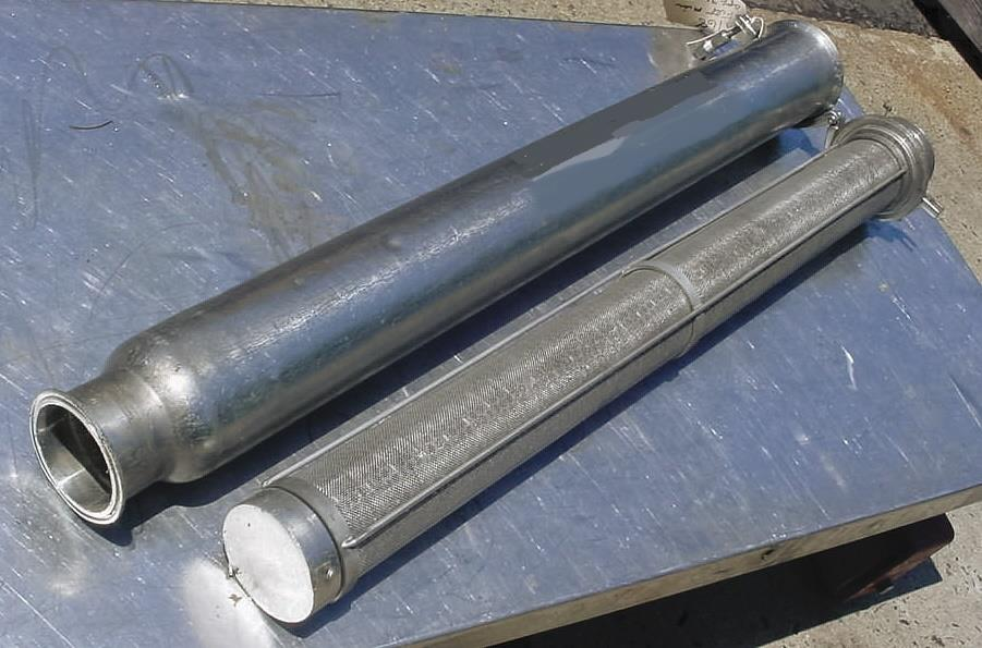 Image LADISH Stainless Steel Sanitary In Line Strainer 803513