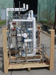 234089 - APV Food Grade Sanitary High Temp Short Time Pasteurizer Processing System