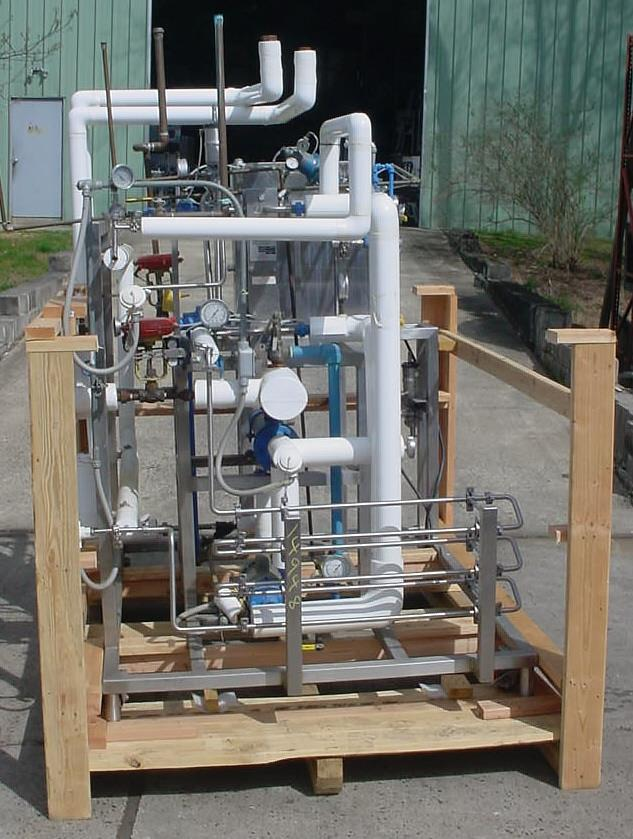 Image APV Food Grade Sanitary High Temp Short Time Pasteurizer Processing System 803430