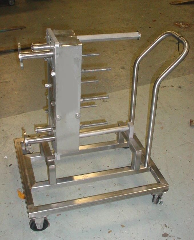 Image APV 316L Stainless Steel Pharmaceutical Grade Plate Heat Exchanger 803478