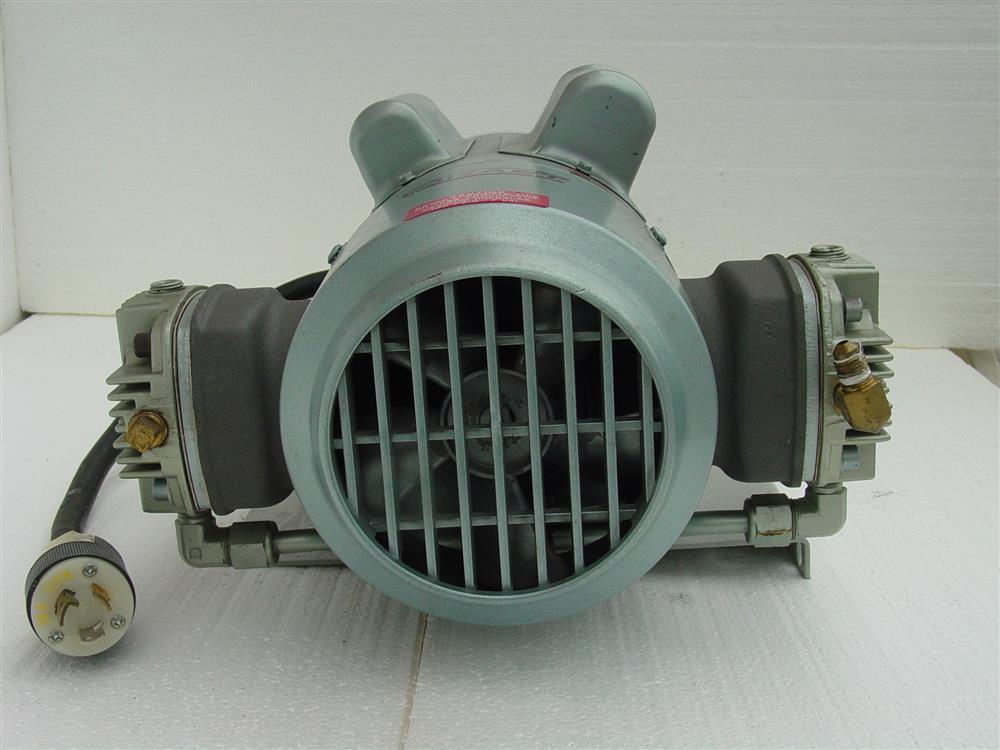 Image GAST Reciprocating Oil-Less Piston Air Compressor/Vacuum Pump 682170