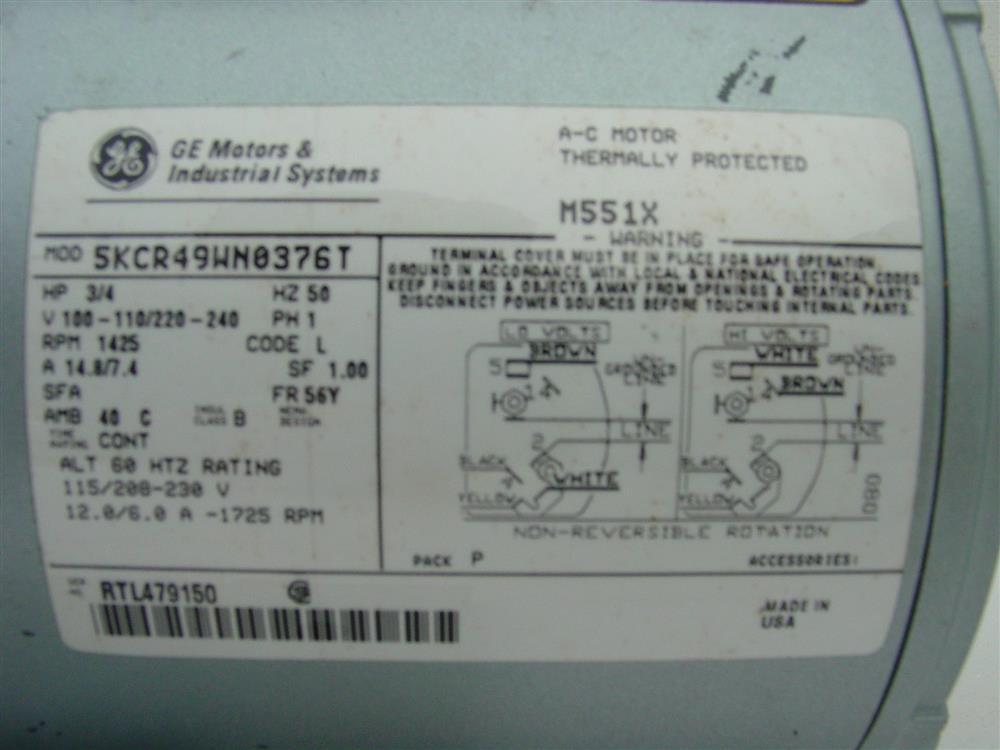 Image GAST Reciprocating Oil-Less Piston Air Compressor/Vacuum Pump 682172