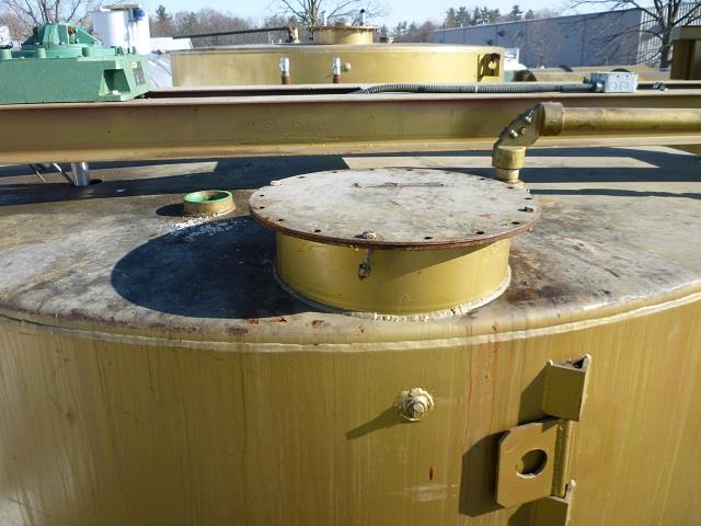 Image 5040 Gallon Carbon Steel Mix Tank With 3 HP Mixer 682979