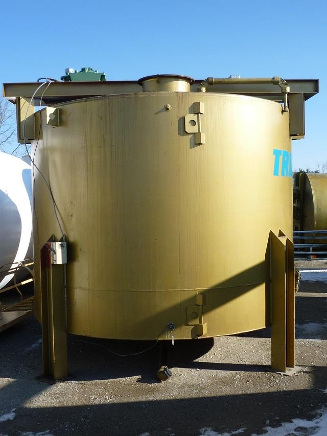 Image 5040 Gallon Carbon Steel Mix Tank With 3 HP Mixer 682982