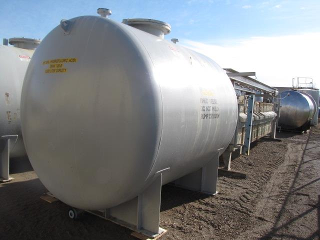 Image 3420 GAL Rubber Lined Steel Horizontal Pressure Tank 683035