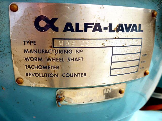 Image ALFA LAVAL Disc Centrifuge 683047