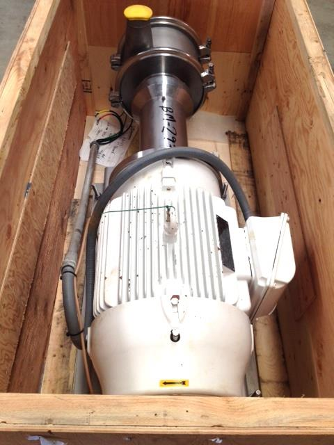 Image 40 HP QUADRO Y-Tron Model Z5 Multi-Row Toothed Rotor-Stator Mixer 683164