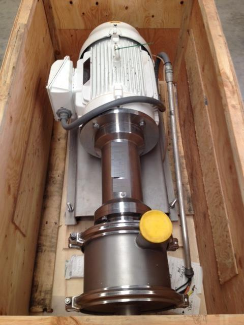 Image 40 HP QUADRO Y-Tron Model Z5 Multi-Row Toothed Rotor-Stator Mixer 683177