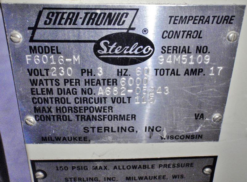 Image STERLCO F6016-M Oil Thermolator, Temperature Controller 683444