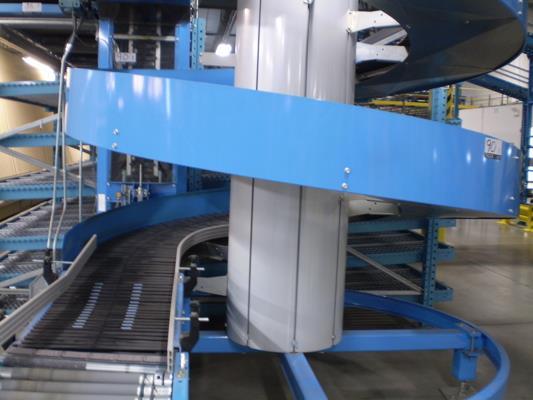 Image RYSON 1600-500-A1 Spiral Case Elevator Conveyor 687488