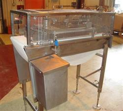 "236085 - 14"" x 45"" Horizontal Intralox Diverting Conveyor Stainless Steel"